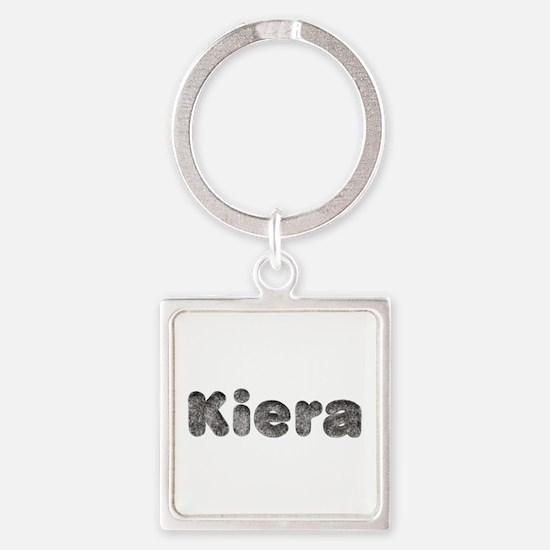 Kiera Wolf Square Keychain