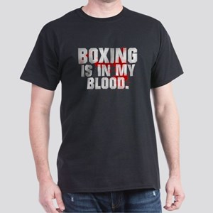 BOXING IS IN MY BLOOD Dark T-Shirt