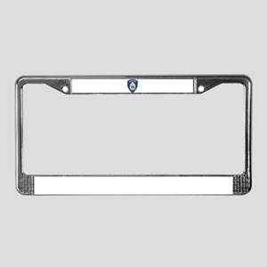 Alaska Airport Police License Plate Frame