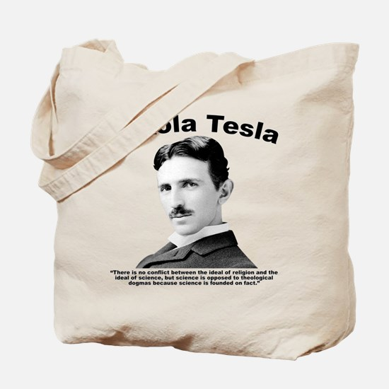 Tesla: Religion Tote Bag
