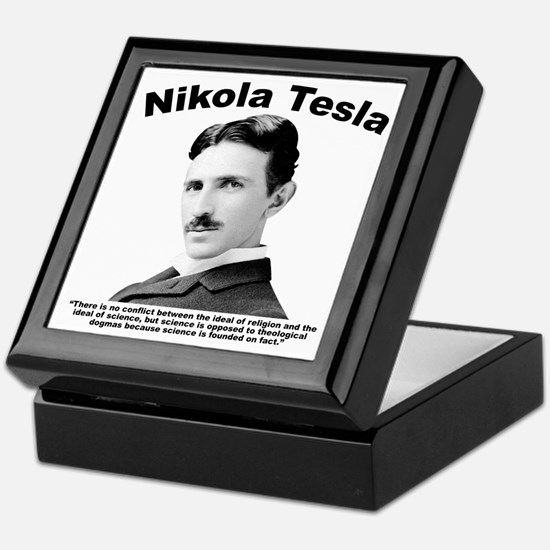 Tesla: Religion Keepsake Box