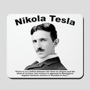 Tesla: Religion Mousepad
