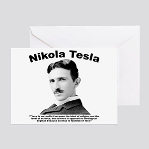 Tesla: Religion Greeting Card