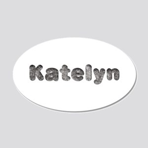 Katelyn Wolf 20x12 Oval Wall Decal