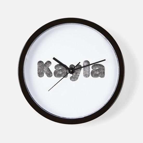 Kayla Wolf Wall Clock