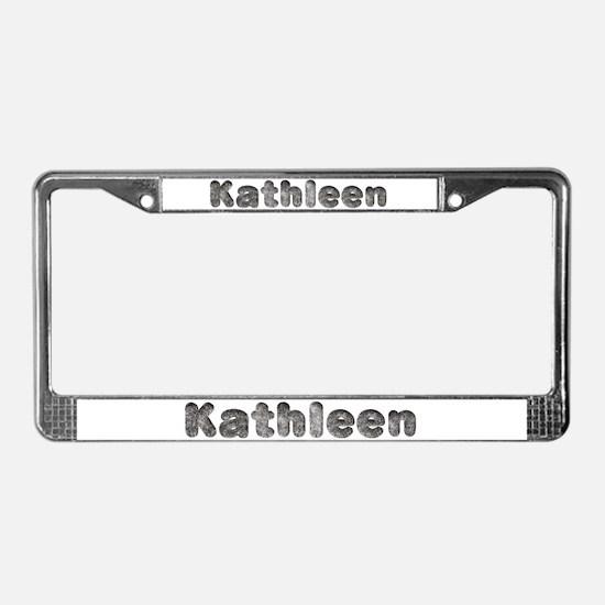 Kathleen Wolf License Plate Frame