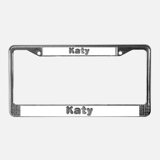 Katy Wolf License Plate Frame
