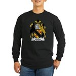 Walter Family Crest Long Sleeve Dark T-Shirt