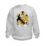 Walter Family Crest Kids Sweatshirt