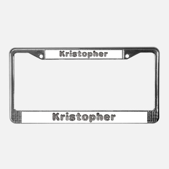 Kristopher Wolf License Plate Frame