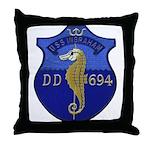 USS INGRAHAM Throw Pillow
