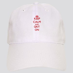 Keep Calm and Grit ON Cap