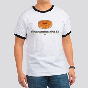 She Wants the Donut T-Shirt