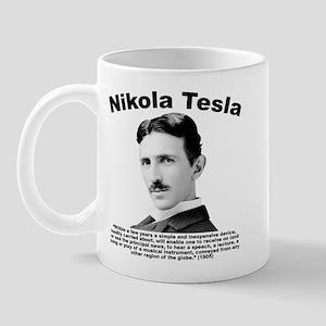 Tesla: Phone Mug