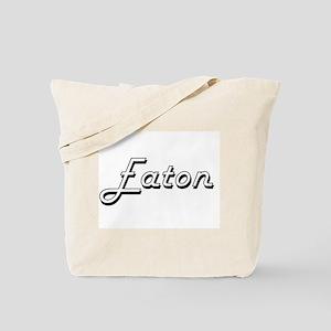 Eaton surname classic design Tote Bag
