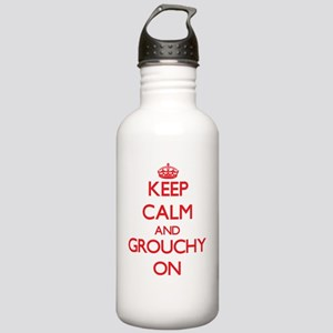 Keep Calm and Grouchy Stainless Water Bottle 1.0L