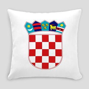 Croatia Hrvatska Emblem Everyday Pillow