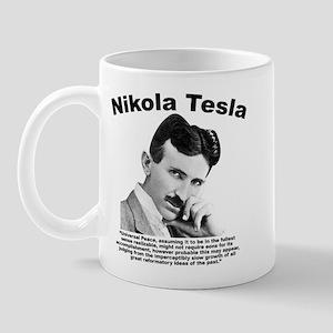 Tesla: Peace Mug