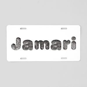 Jamari Wolf Aluminum License Plate