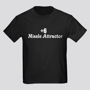 +6 Missle Attractor Kids Dark T-Shirt