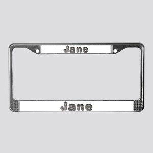 Jane Wolf License Plate Frame