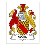Wallis Family Crest Small Poster