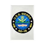 USS Sierra (AD 18) Rectangle Magnet