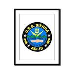 USS Sierra (AD 18) Framed Panel Print
