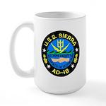 USS Sierra (AD 18) Large Mug