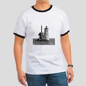 Whaleback Lighthouse Ringer T