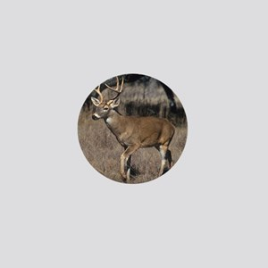 White Tail Deer Mini Button