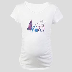 Ferrets Maternity T-Shirt