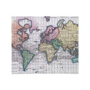 Antique world map blankets cafepress gumiabroncs Choice Image