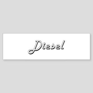 Diesel surname classic design Bumper Sticker