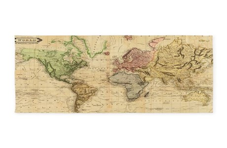World Map Area Rugs   CafePress