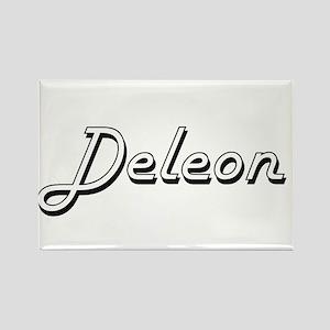 Deleon surname classic design Magnets