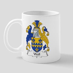 Wall Family Crest Mug
