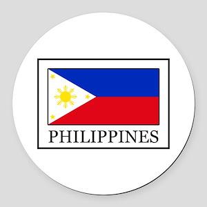 Philippines Round Car Magnet