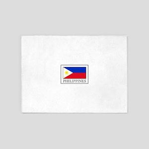 Philippines 5'x7'Area Rug