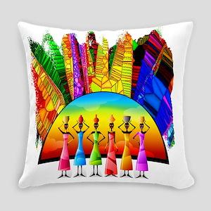 African American Women Everyday Pillow