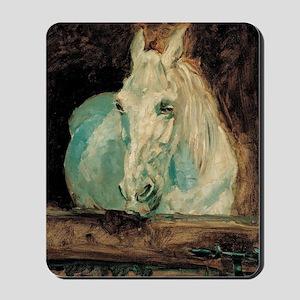 The White Horse Gazelle - Henri Toulouse Mousepad