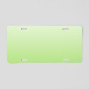 ombre Aluminum License Plate