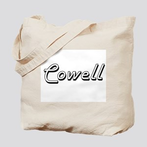 Cowell surname classic design Tote Bag