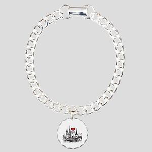 I love zagreb Charm Bracelet, One Charm