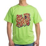 Need Love Green T-Shirt