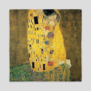 The Kiss - Gustav Klimt Queen Duvet