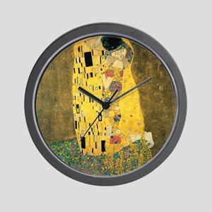 The Kiss - Gustav Klimt Wall Clock