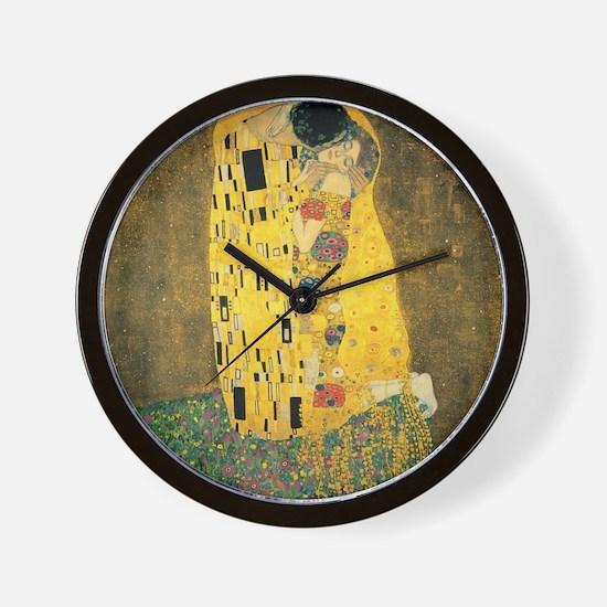 The Kiss - Gustav Klimt Wall Clock