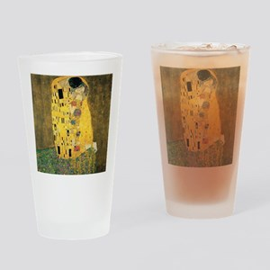 The Kiss - Gustav Klimt Drinking Glass