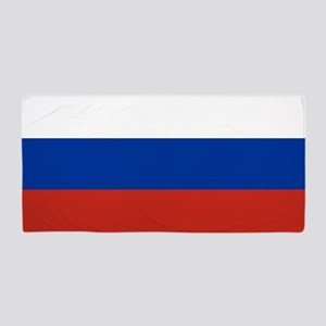 Flag of Russia Beach Towel